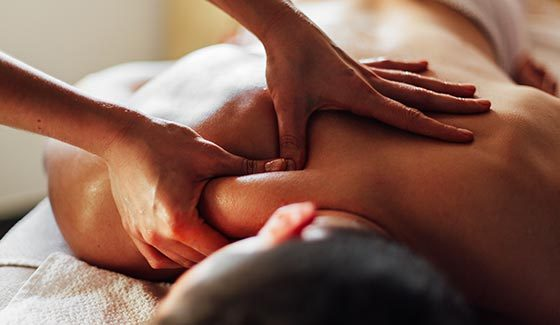 DEEP TISSUE MASSAGE